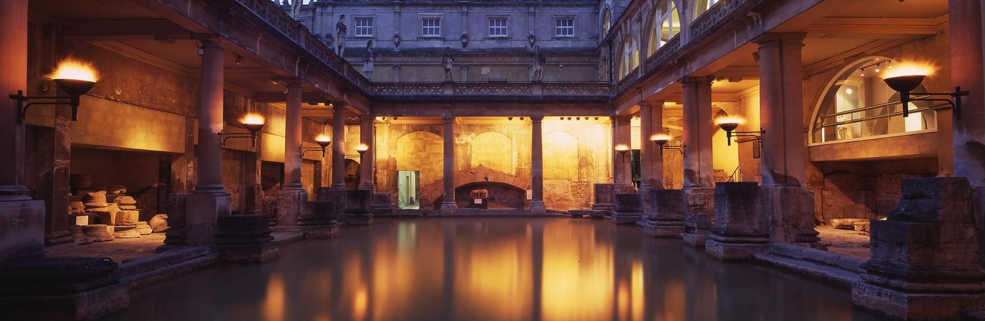 Estância Termal Romana em Inglaterra