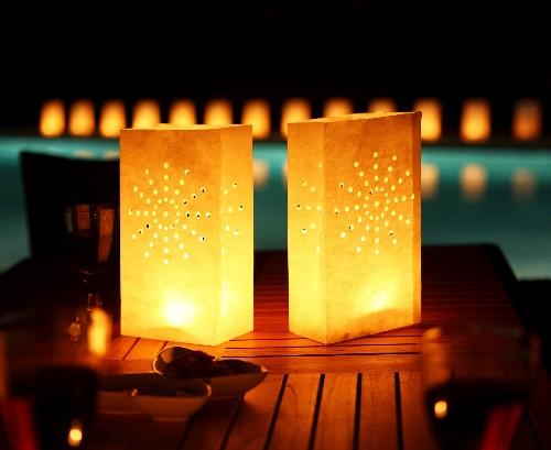 As velas como elemento de decoração